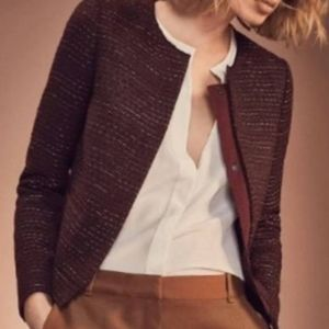 NWT Mossimo Dutti Tweed Jacket